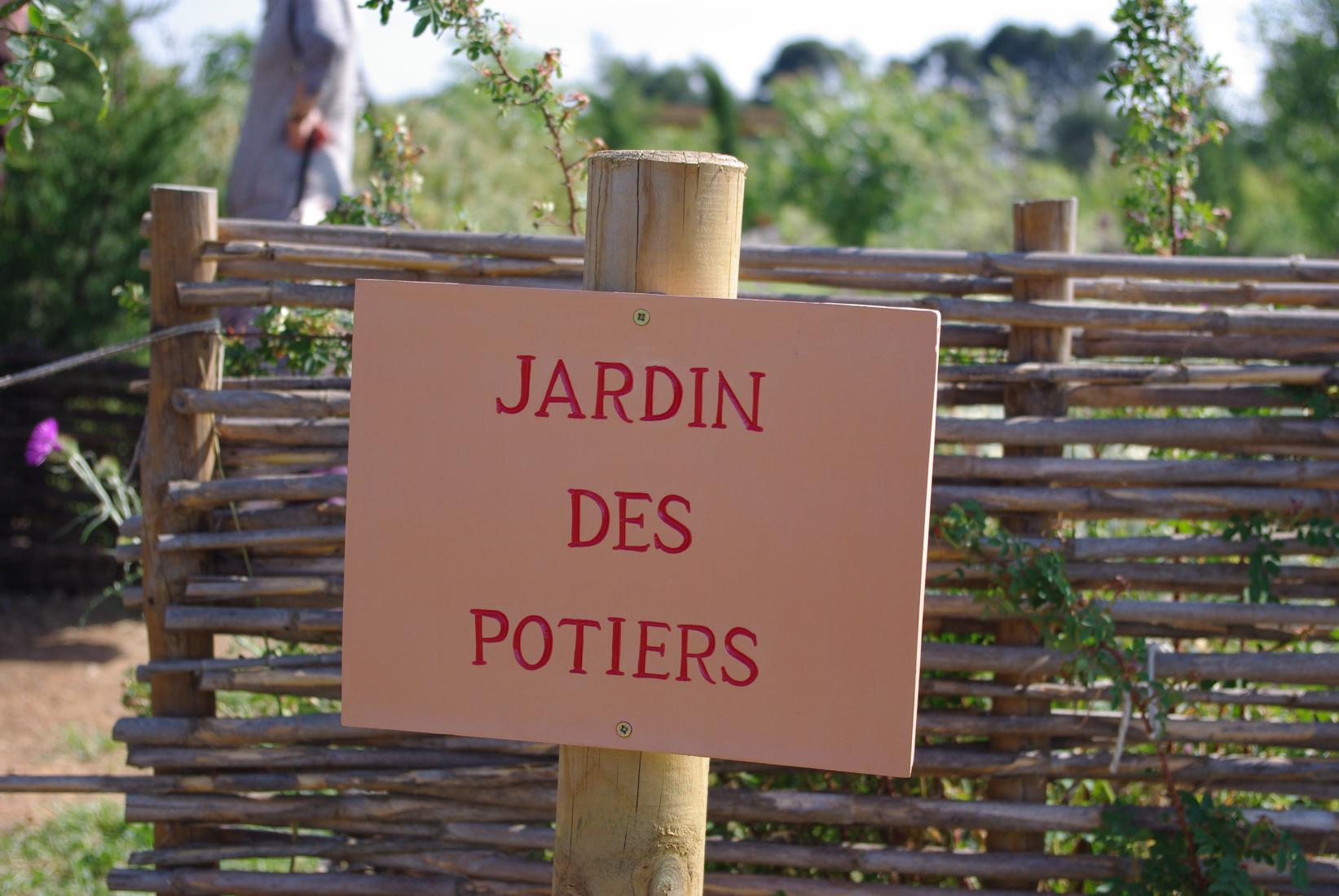 Jardin gallo-romain à Amphoralis